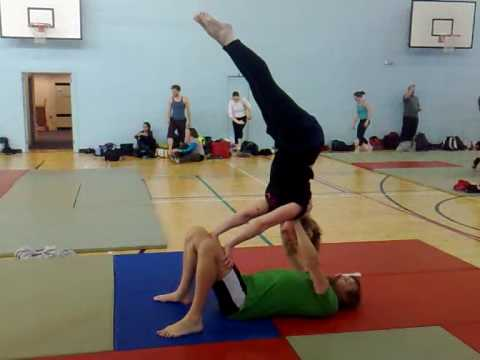 Lynsay's Beginners Acrobat Weekend - YouTube