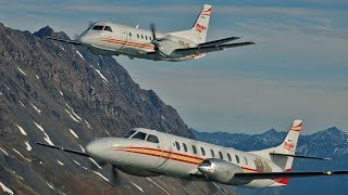 Spectacular AIR to AIR of Penair Aircraft over Alaska