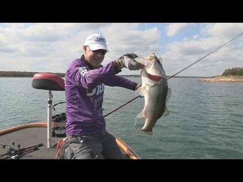 Southwest Outdoors Report #36 Lake Murray, Oklahoma Bass Fishing - 2013