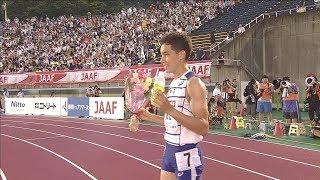 男子 800m 決勝 第103回日本陸上競技選手権大会