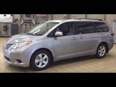 2017 Toyota Sienna Le Review