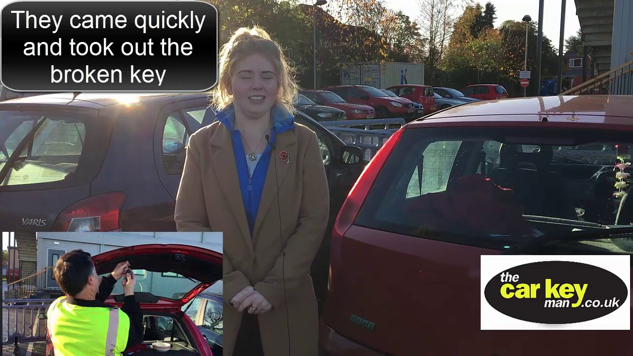 fiat punto broken key testimonial car key man news - youtube