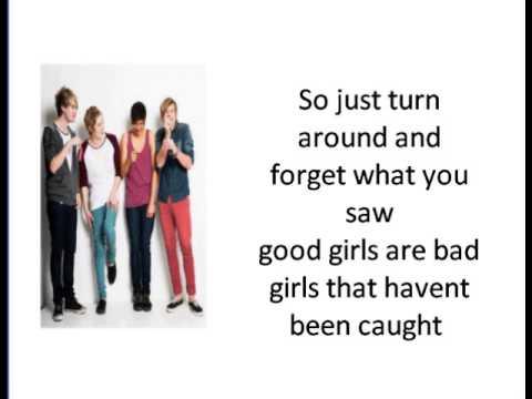 5 Seconds Of Summer Good Girls Are Bad Girls Lyrics Youtube