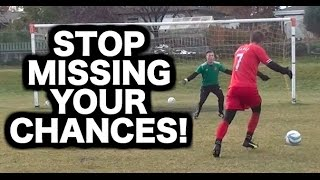 How to beat a goalkeeper in football  How to score more goals 1v1 with the keeper in soccer