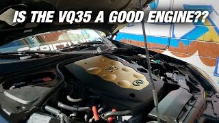 the biggest problem with the vq engine g35 vlog