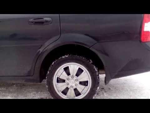 Заменил задние пружины на Chevrolet Lacetti от Chevrolet Lanos передние