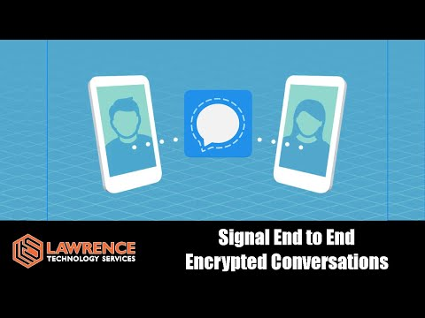 Using Signal Messenger For Truly Secure End To End Encrypted Conversions