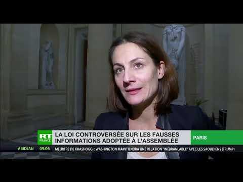 Des Députés Réagissent Au Vote De La Loi Sur Les «Fake News»