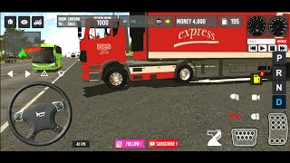 New Update ! Map Baru Dan Smart Traffic Idbs Truck Trailer First Gameplays HD screenshot 3