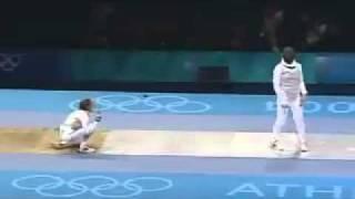 SUPER FENCING ATHENS 2004.Romankov. D,.flv