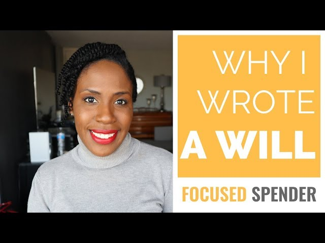 Why I Wrote a Will