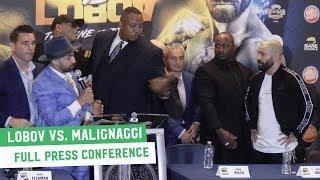 Artem Lobov vs. Paulie Malignaggi | Full Press Conference
