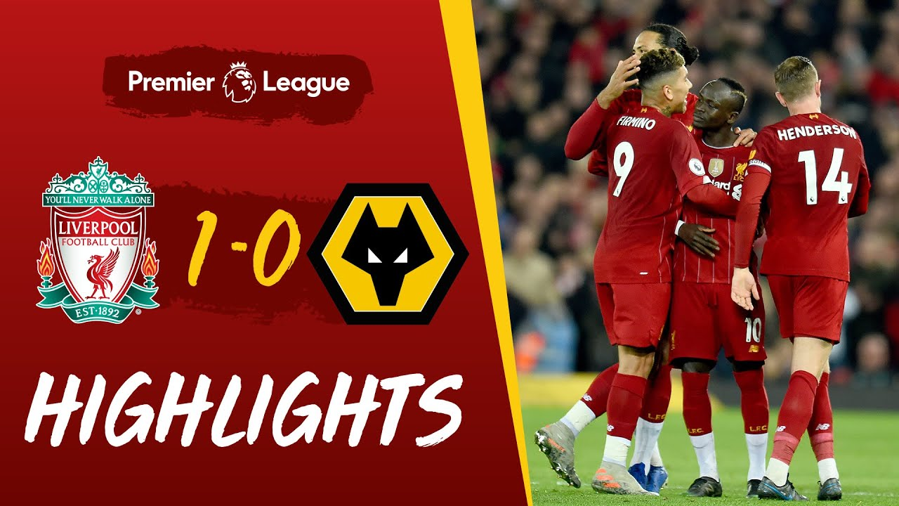 Wolverhampton Wanderers vs. Liverpool - Football Match Report ...