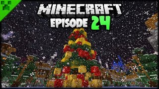 FINISHING THE NORTH POLE TOWN! | Python