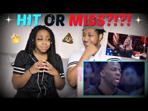 """""""Fergie Performs The U.S. National Anthem at 2018 NBA All-Star Game"""" REACTION!!!"""