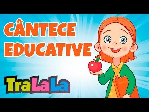 Cântece educative pentru copii - 60 MIN   TraLaLa
