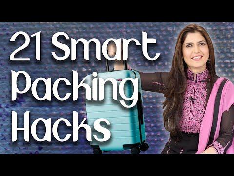 21 Smart Packing Hacks / Travel Hacks / Travel Tips- Ghazal Siddique