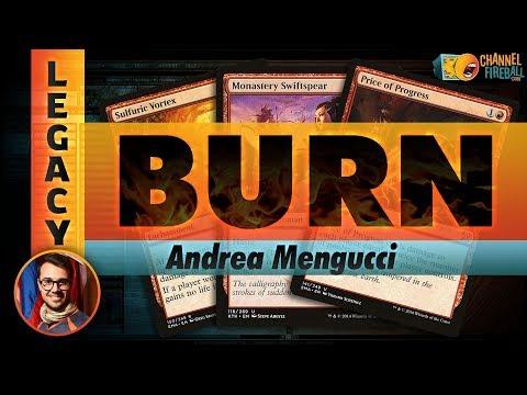 Channel Mengucci - Legacy Burn (Deck Tech & Matches)