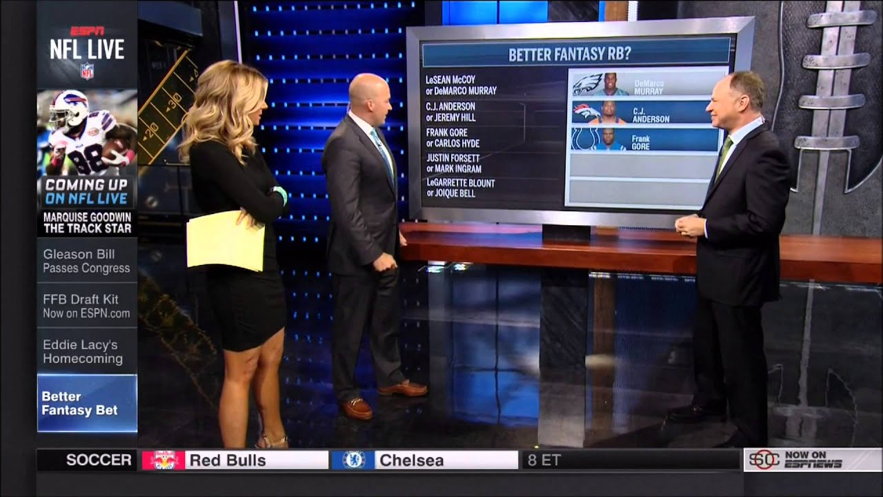 michelle beisner looking hot on nfl live youtube