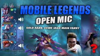 Mobile Legends Prank - Cewe Open Mic, Jago Main Fanny