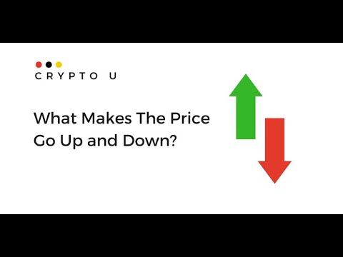 What Makes The Price Of Cryptocurrency Go Up?