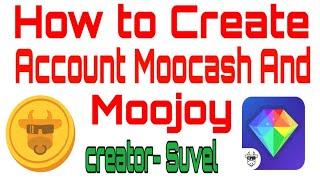 كيفية إنشاء moocash و moojoy حساب l كسب كسب المال