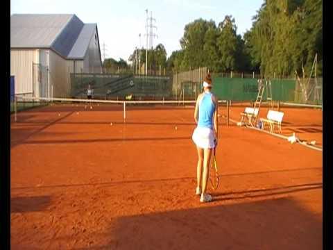 Laura Nowak's Tennis Recruiting Video