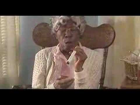 smoking grandma from 'dont be a menace' - YouTube