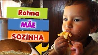 RECEITA DE PÃO FÁCIL ROTINA MÃE SOZINHA X Primitive | João, Daia e Antônio