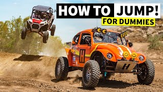 homepage tile video photo for We Learn How to Properly Jump a RZR… and How NOT to Jump a RZR