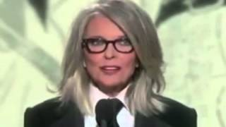 Diane Keaton speech at the Golden Globes 2014