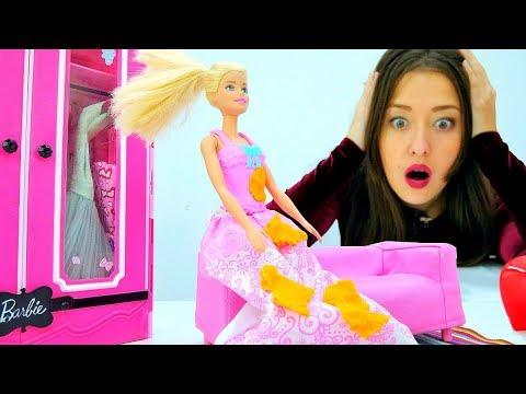 Кукла Барби готовится к концерту! Игры для девочек в одевалки.