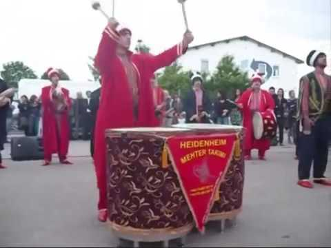 Ottoman military bands in GERMANY (Mehter Takimi)