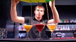 бармен шоу видео
