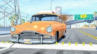 Spike Strip High Speed Crashes #42 – BeamNG Drive | CrashBoomPunk