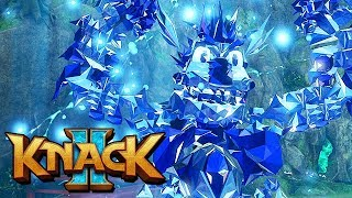Knack 2 Gameplay German PS4 PRO - Alle Knack Varianten