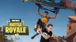 Playing the NEW Glider Update in the FREE Fortnite Battle Royale!