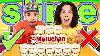 Don't choose the Maruchan INCORRECT - Slime Challenge