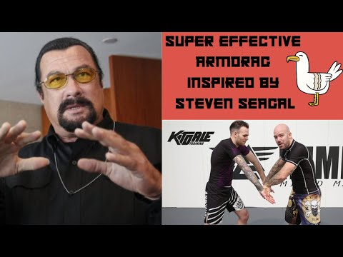 Steven Seagal inspired grip to Arm Drag to Backtake - From the Russian Gripping Masterclass