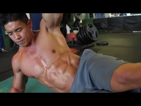 8 Minute Ab Workout For A Six Pack