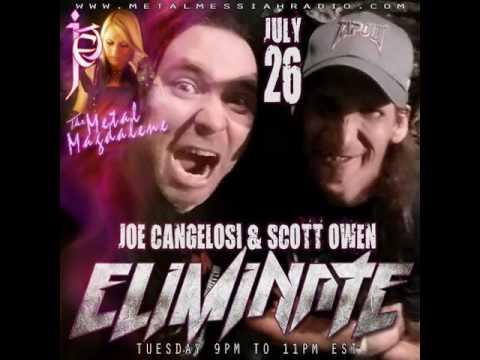 Joe Cangelosi & Scott Owen of Eliminate on Metal Messiah Radio
