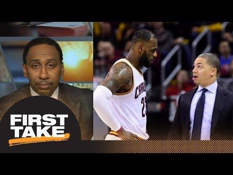 Stephen A. says LeBron James is responsible for Tyronn Lue's job | Final Take | First Take | ESPN