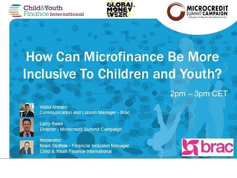 Webinar: How Can Microfinance Be More Inclusive To Children and Youth - 12/03/2014