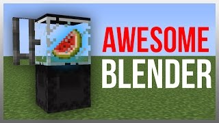Minecraft 1.12: Redstone Tutorial - Working Blender!