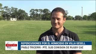 Repercusiones en el ambiente del rugby tras el asesinato de Fernando en Villa Gesell