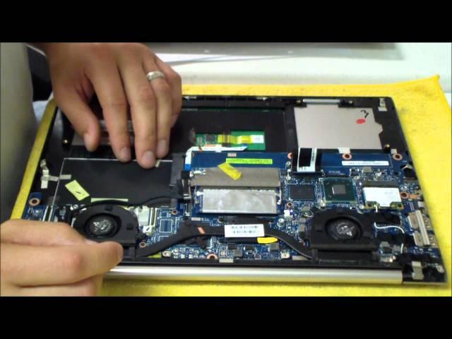 Asus Zenbook UX32A/UX32VD AC DC Power Jack Repair