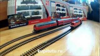 Модели железных дорог видео PIKO 57175(Полное видео сборки стартового набора моделей железных дорог PIKO 57175 можно посмотреть здесь: http://www.youtube.com/watch..., 2012-12-23T18:40:43.000Z)