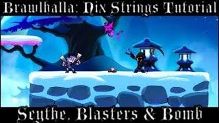 Brawlhalla: Nix Strings Tutorial (PS4/XBOX) (Read Desc.)