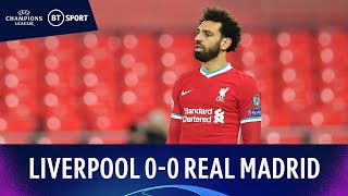 Liverpool V Real Madrid 0-0 Reds Crash Out After Anfield Stalemate Champions League Highlights