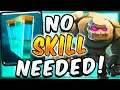 THIS ISN'T FAIR! NEW GOLEM CLONE = EASIEST DECK IN CLASH ROYALE!